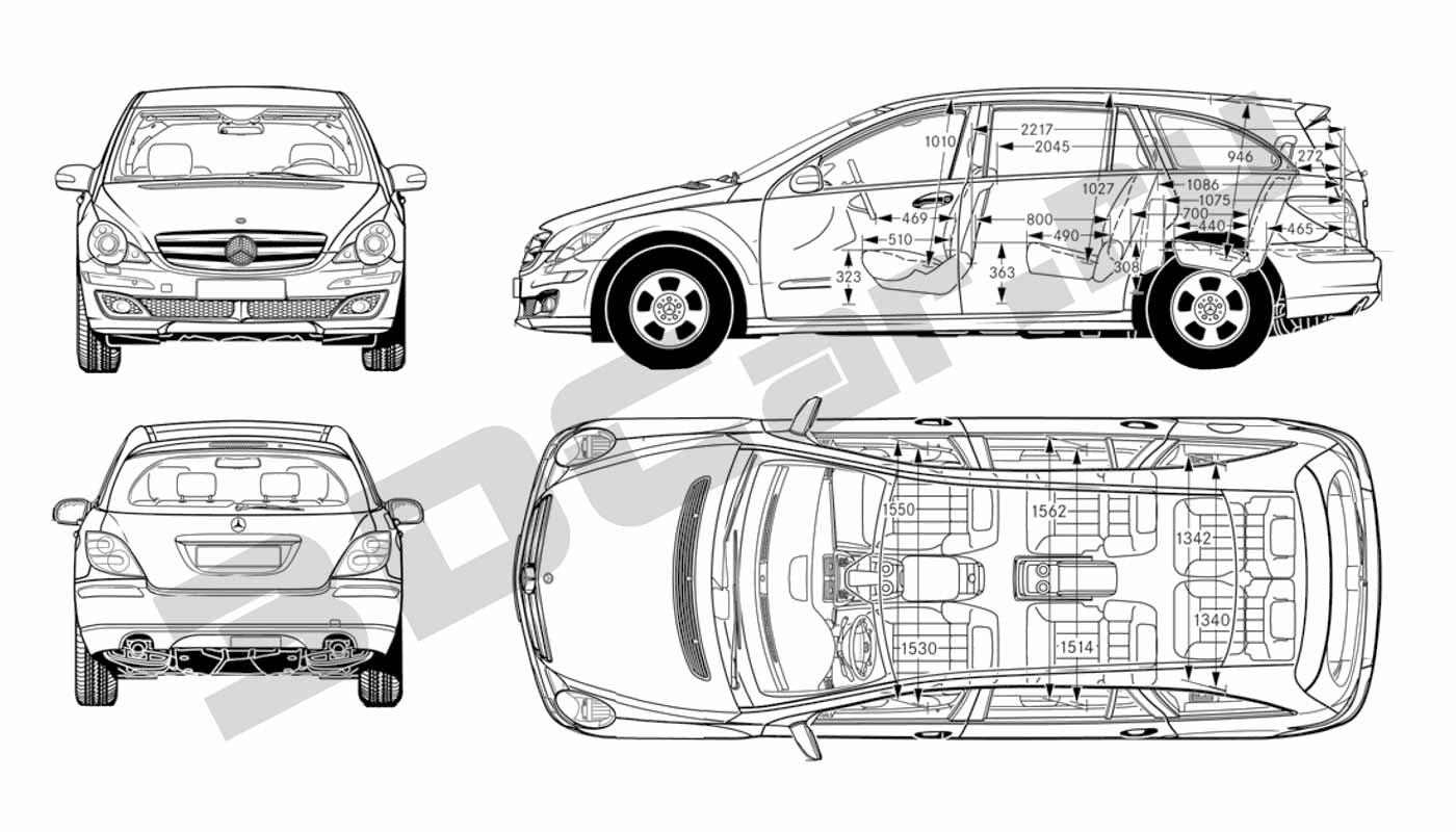 Mercedes 3D Скачать