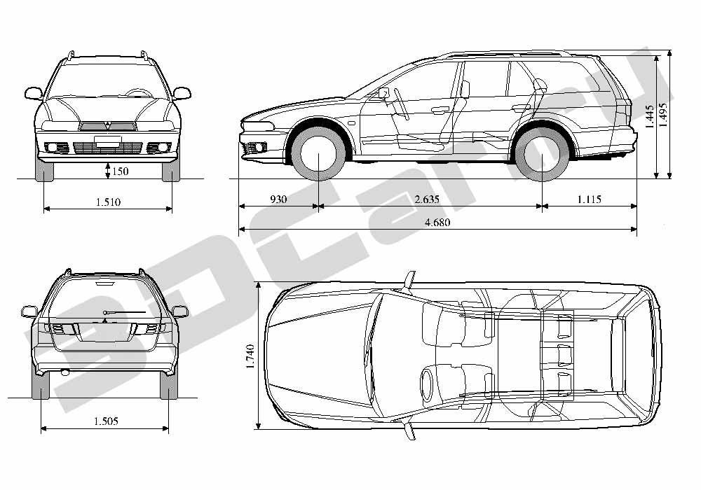 u0427 u0435 u0440 u0442 u0435 u0436 mitsubishi galant wagon      3dcar ru