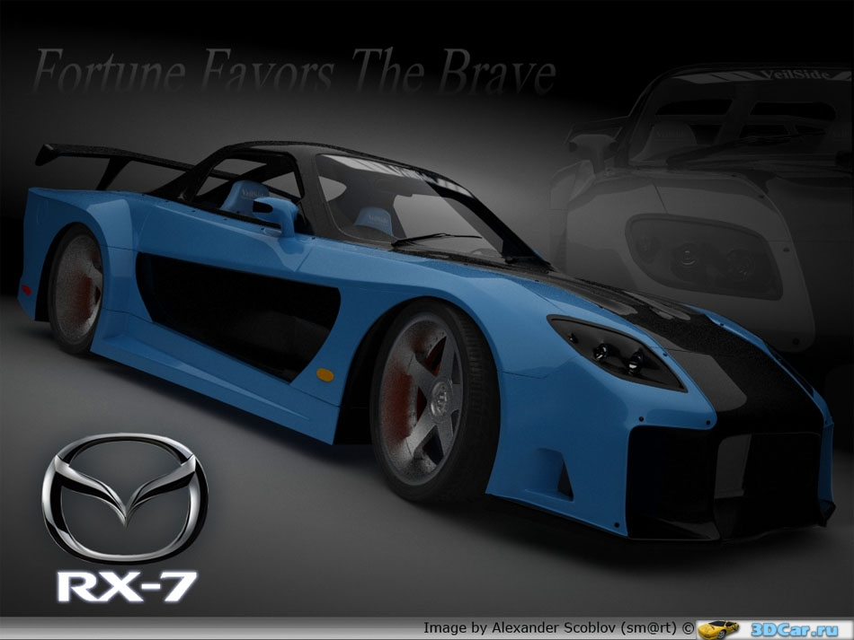 Mazda RX-7 VeilSide Fortune Model