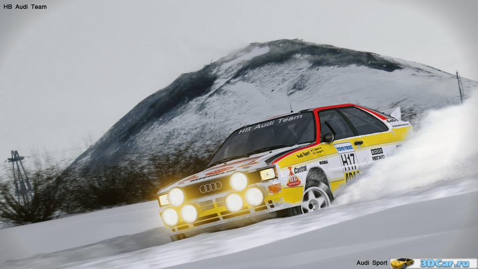 Audi Sport Quattro Group B Rally 1984