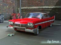 Plymouth Fury 1958( Christine)
