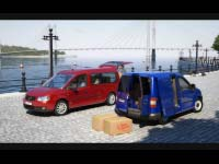 VW Caddy, Quay Shot