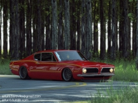 Plymouth Barracuda 440 Widebody